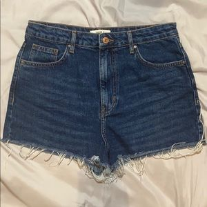 Forever 21 Dark Denim Shorts